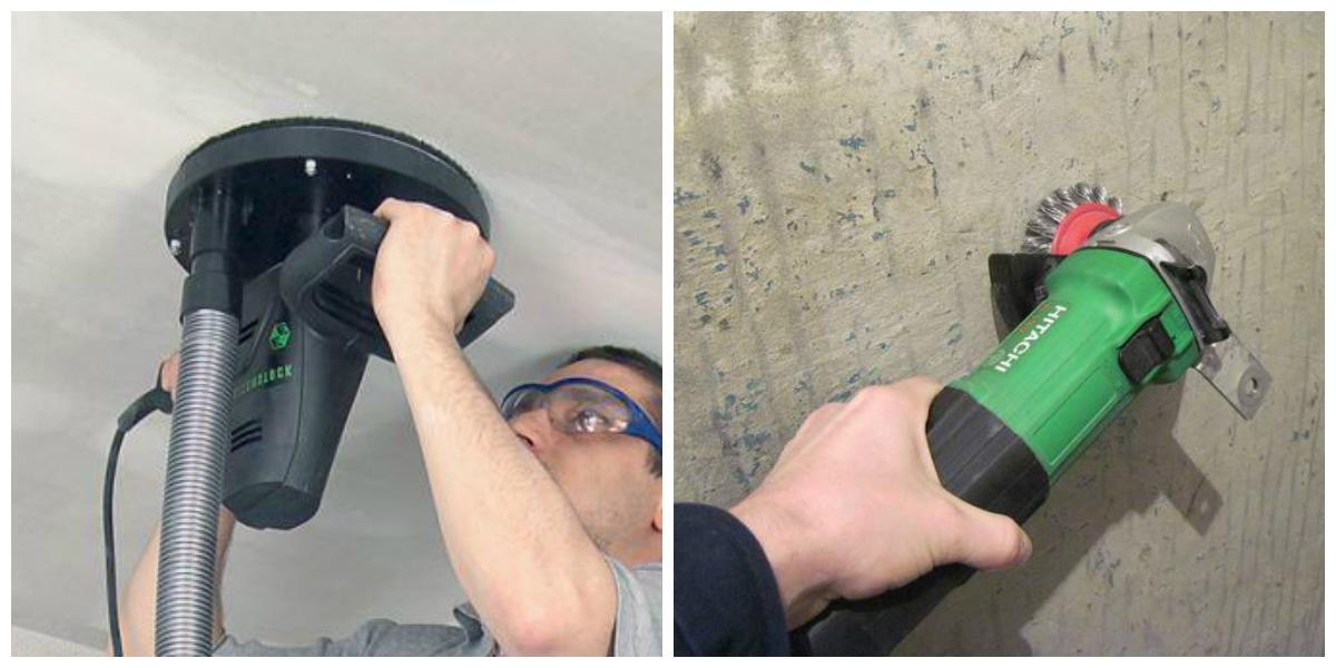 Чем размыть побелку с потолка подготавливаем поверхность к ремонту