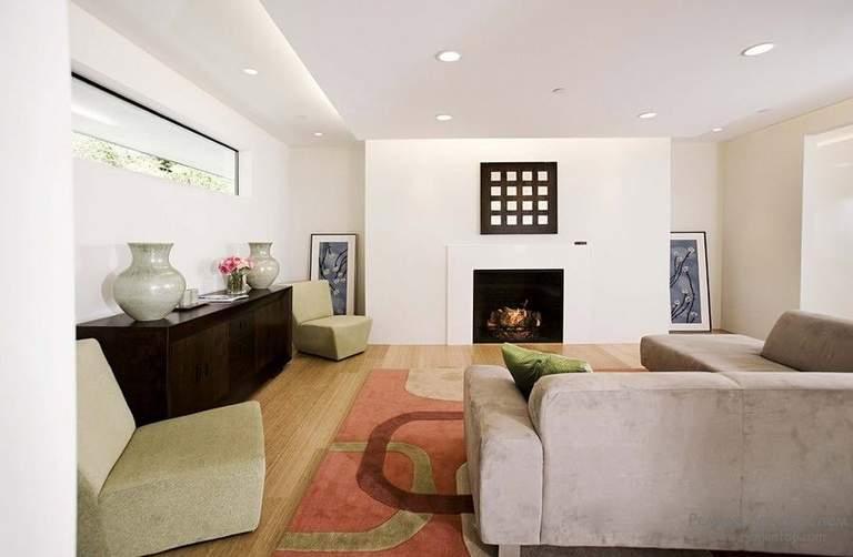Потолок в каминной комнате - основные требования и варианты оформления | 502x768