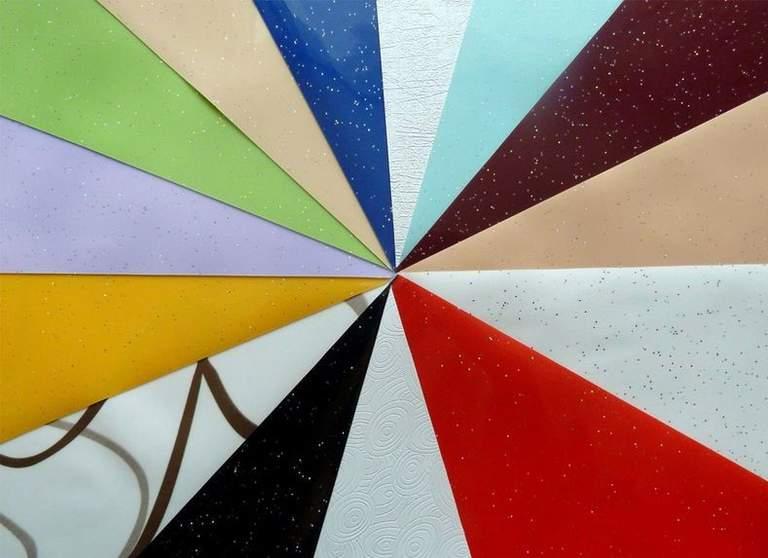 Какие бывают виды натяжных потолков: 15 разновидностей с фото как они выглядят