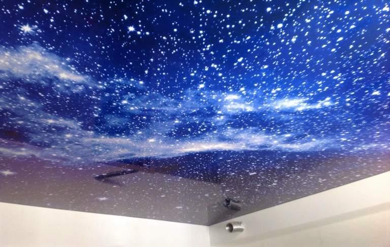 Plafoniere Led Cielo Stellato : Soffitti tesi cielo stellato