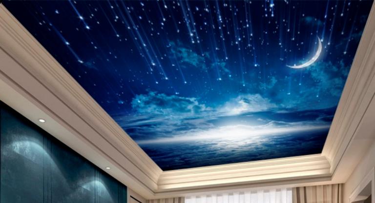 Spanndecken Sternenhimmel
