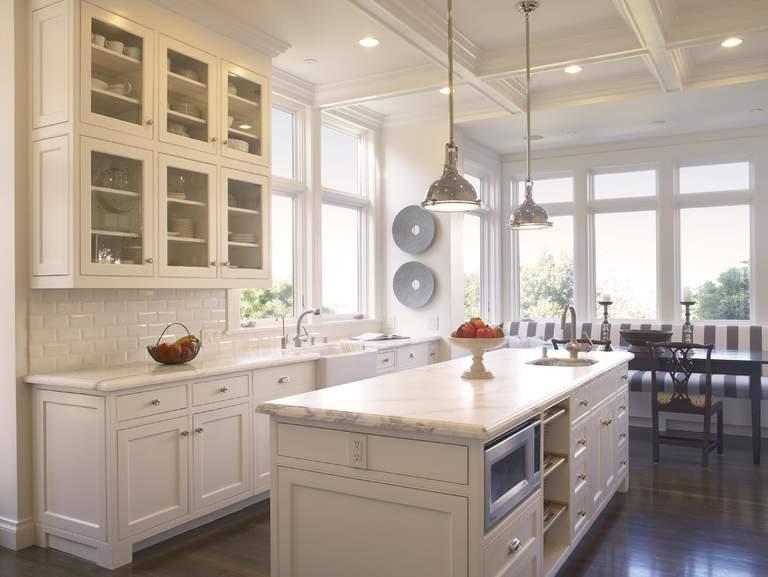 Какой потолок лучше сделать на кухне: фото вариантов отделки и дизайна