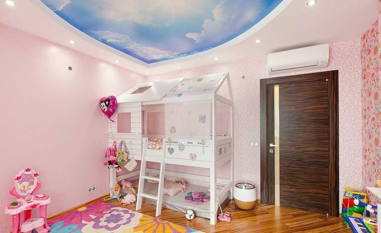 Виды детских комнат: детская для мальчика, девочки, нескольких детей 95